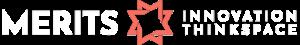 MERITS logo wide inverted